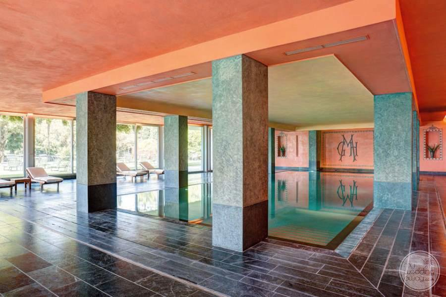 Grand Hotel Majestic Lake Maggiore Indoor Pool