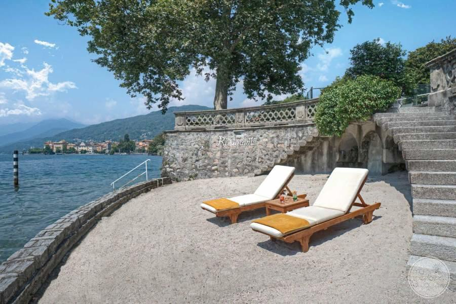 Grand Hotel Majestic Lake Maggiore Lounge Terrace