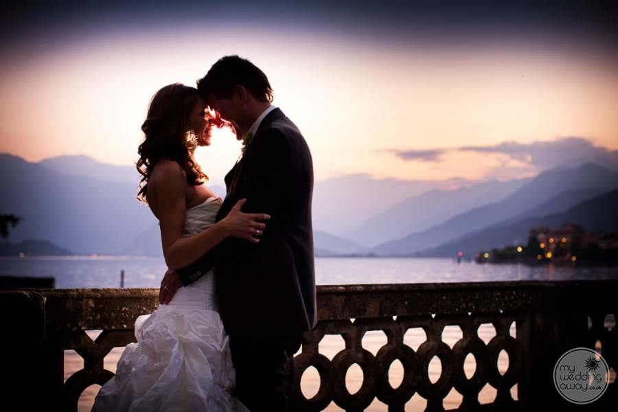 Grand Hotel Majestic Lake Maggiore Wedding Photo