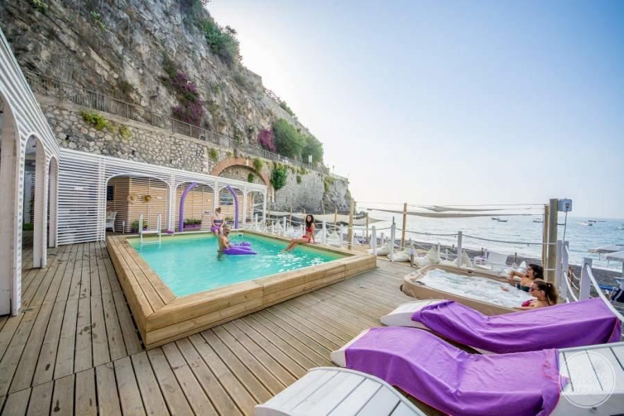 Hotel Marmorata Pool Area