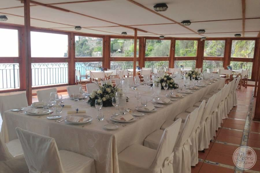 Hotel Marmorata Wedding Reception