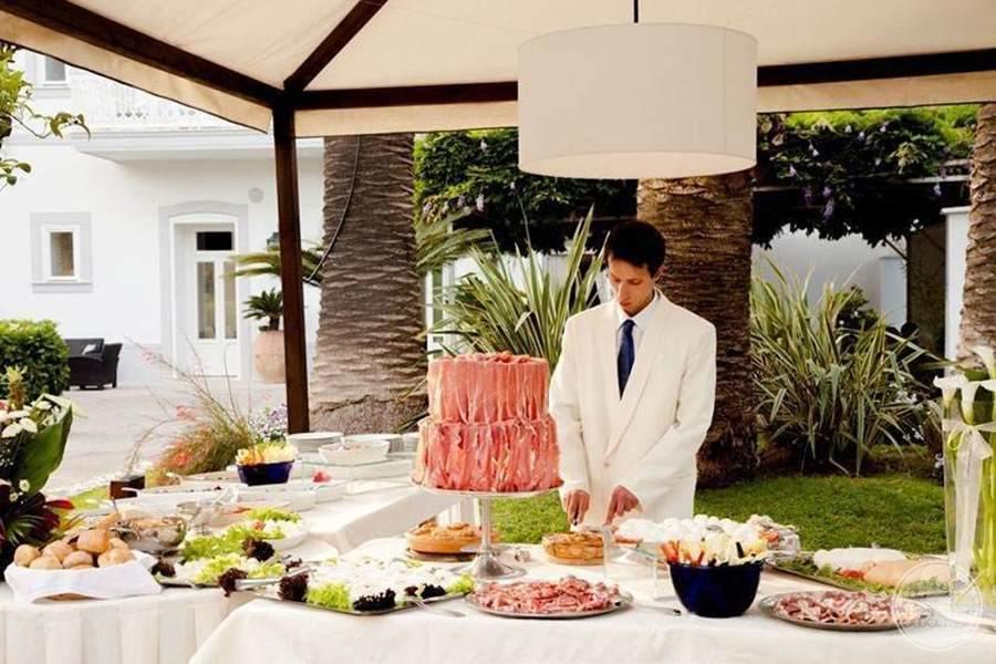 Hotel Mediterraneo Wedding Setup