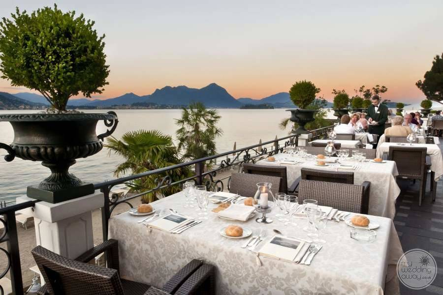 Terrace Dining outdoors and venue for wedding receptions