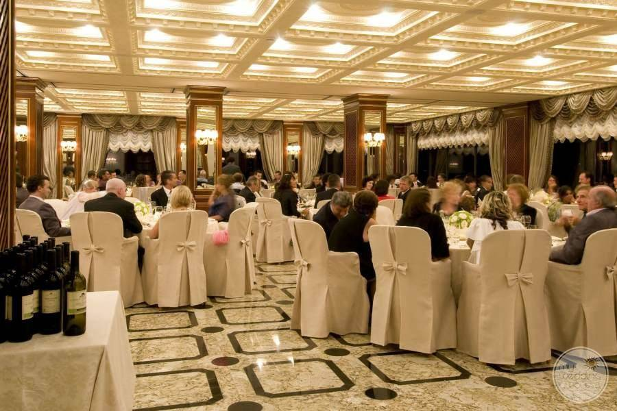 Hotel Splendid Wedding Reception Area