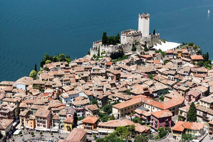 Malcesine Castle Castle and Town