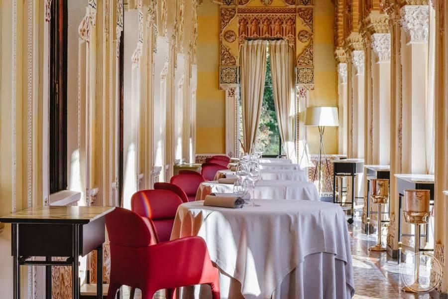 Villa Crespi Dining Area