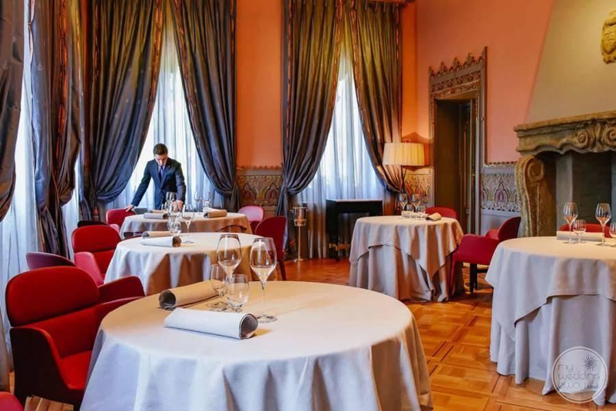 Villa Crespi Dining