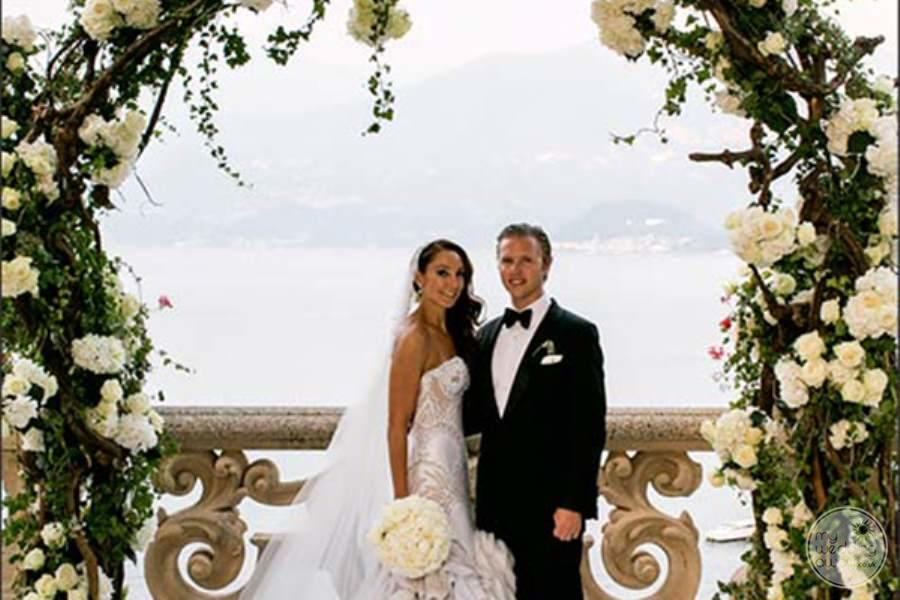Villa del Balbianello Bride and Groom