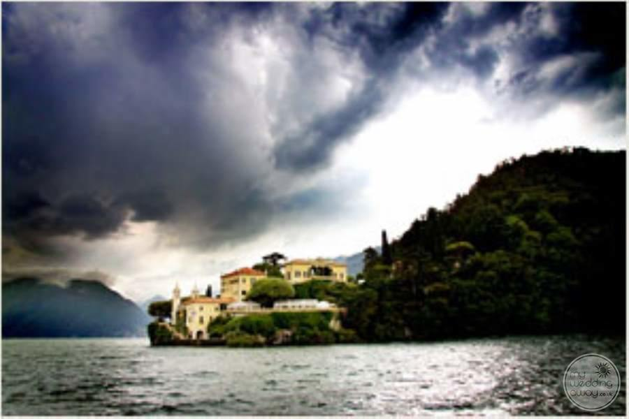 Villa del Balbianello View from Lake