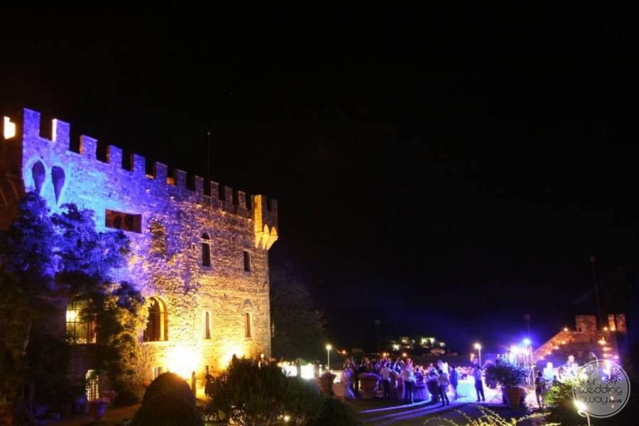 Castello Del Vincigliata Evening Wedding