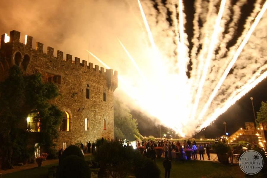 Castello Del Vincigliata Fireworks