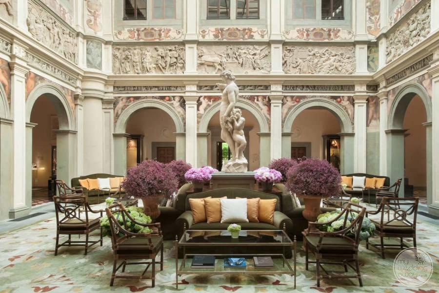 Four Seasons Florence Lobby