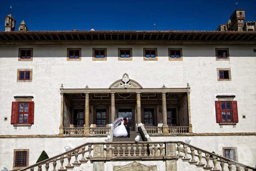 Villa Ferdinanda Bride and Groom