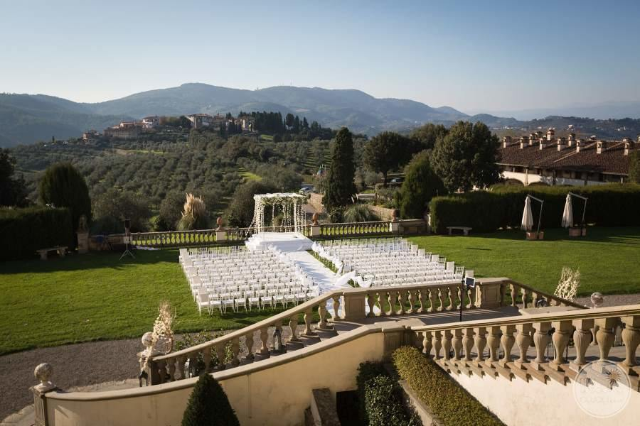 Villa Ferdinanda Garden Wedding Venue