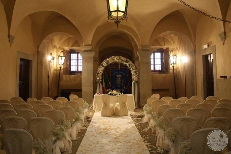 Salone Hall chapel for wedding ceremonies