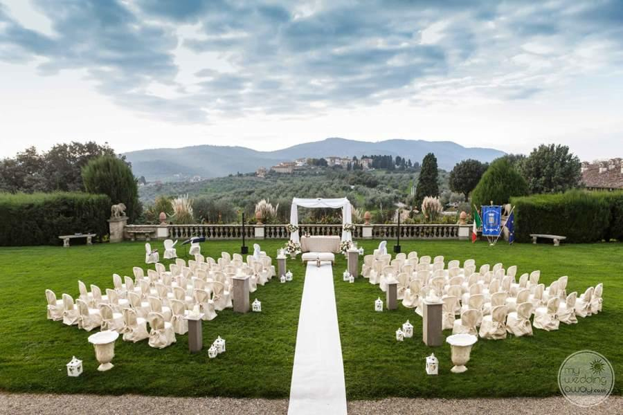 Villa Ferdinanda Wedding Ceremony