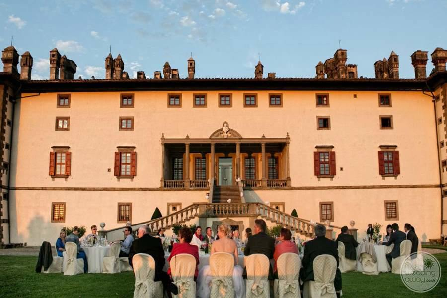 Villa Ferdinanda Wedding Reception