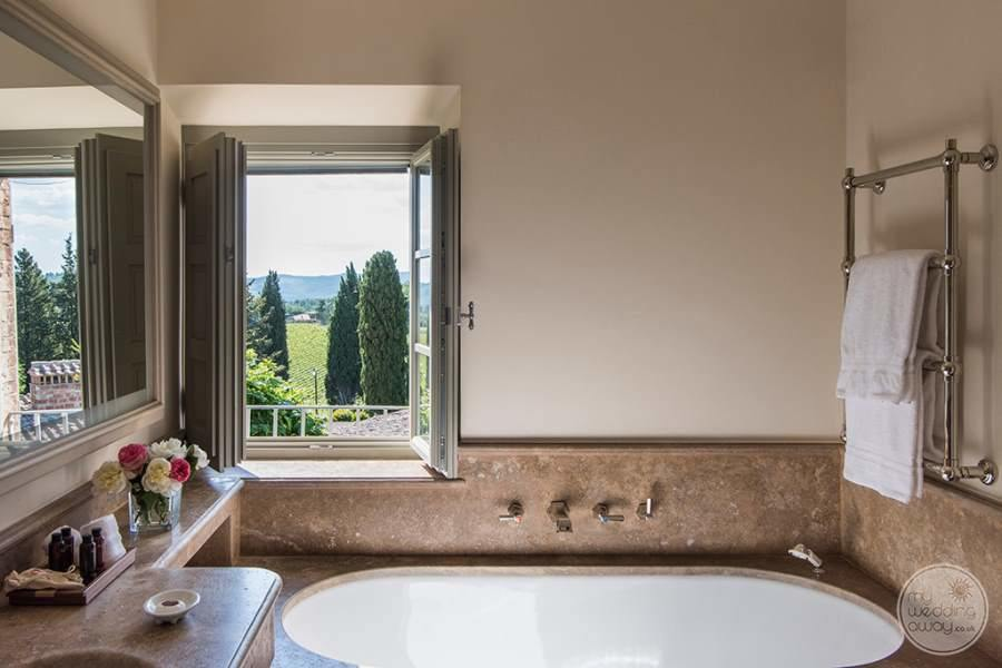 Borgo San Felice Bath with Views