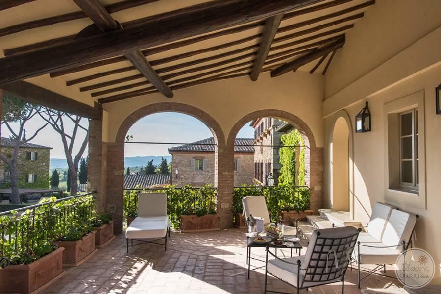 Borgo San Felice Terrace