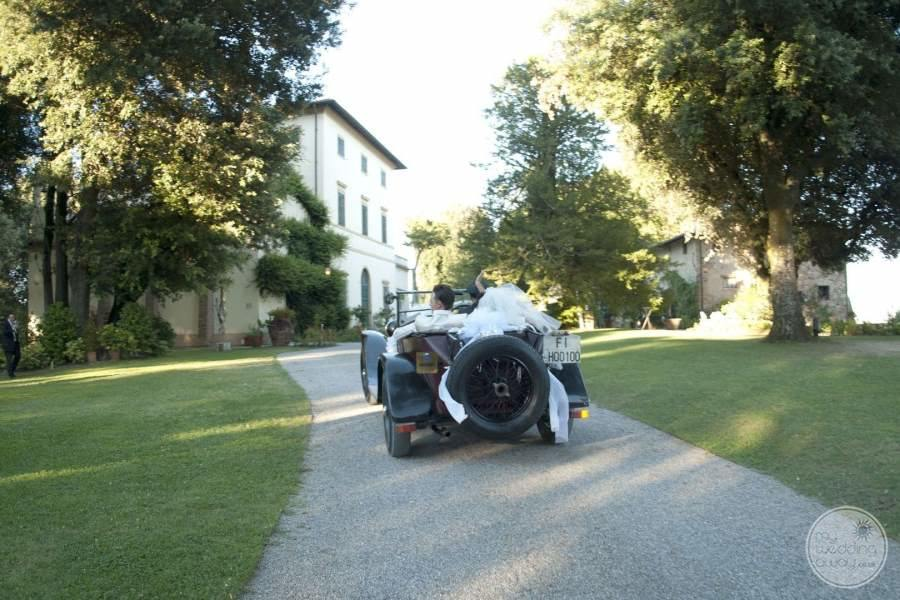Classic Car used for wedding ceremonies on property