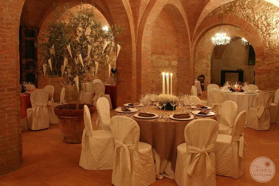 Villa Ricrio Wedding Reception