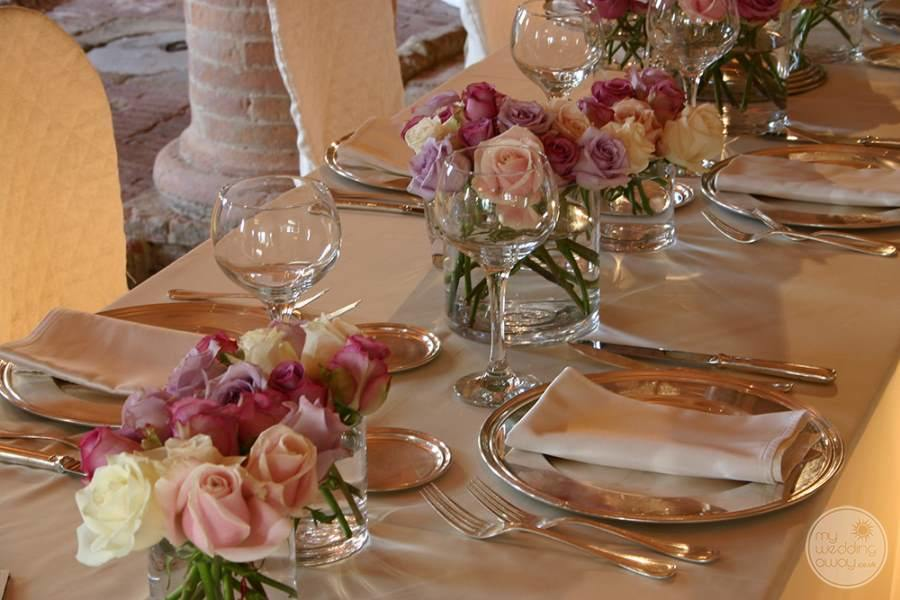 Villa Ricrio Wedding Table