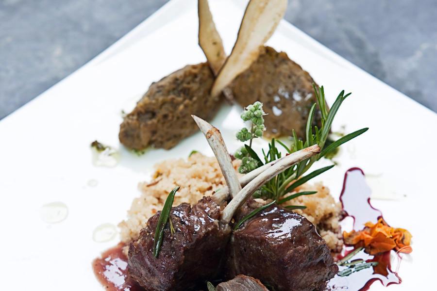 Gourmet Meals prepared with luxury ingredients