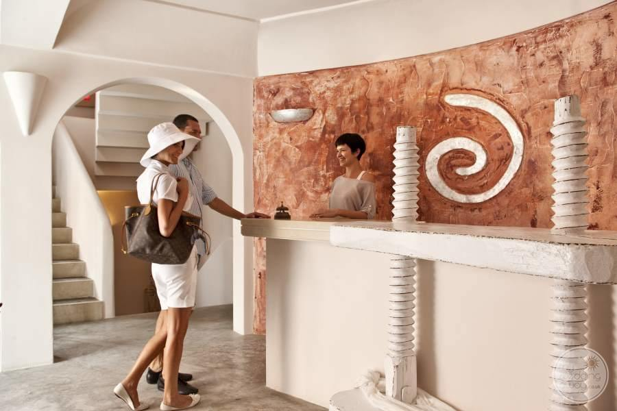 Andronis Luxury Suites Reception