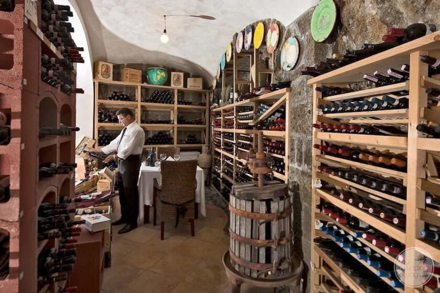 Covo dei Saraceni Wine Cellar