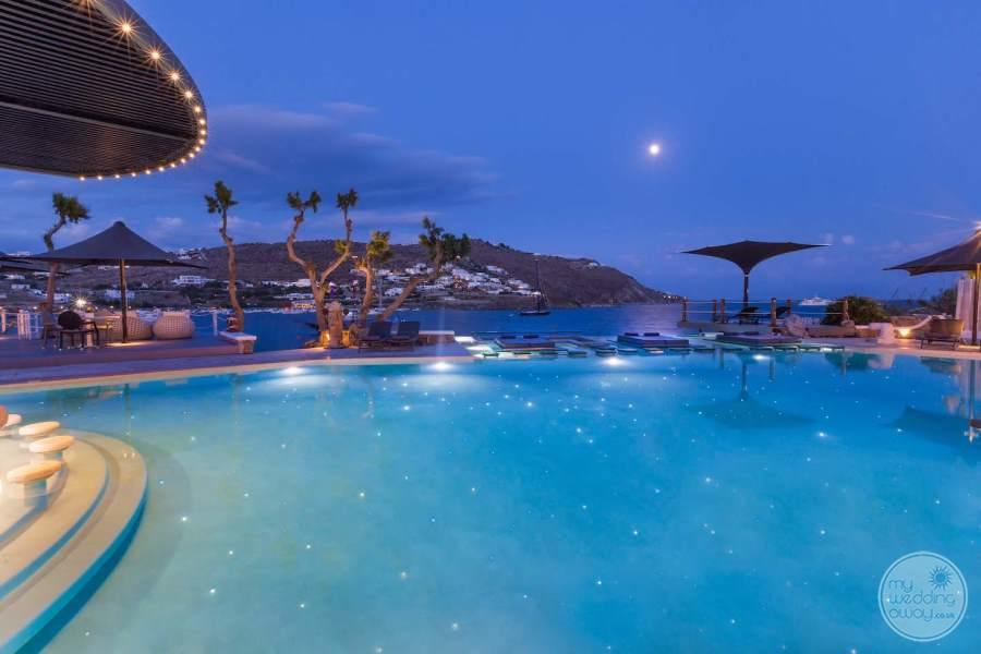 Kivotos Pool at Night