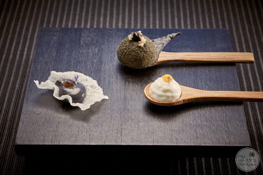 Kouros Artistic Food Presentation