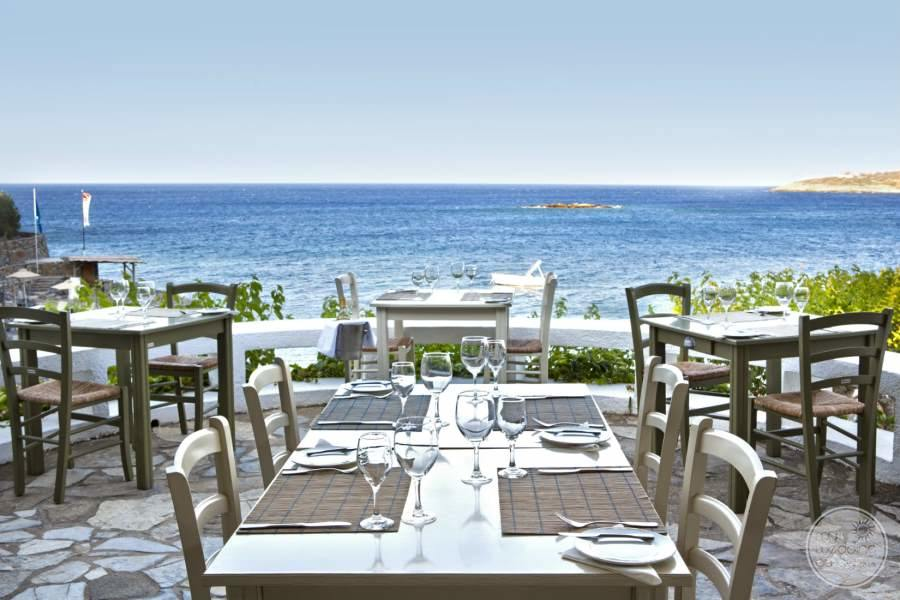 Outdoor Dining table with oceanview