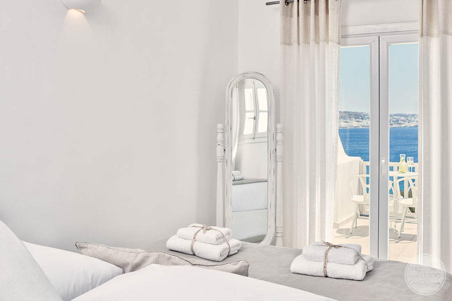 Mykonos Princess Room Views