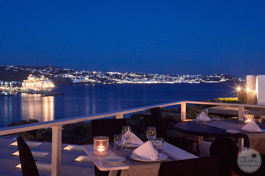 Mykonos Princess Night View