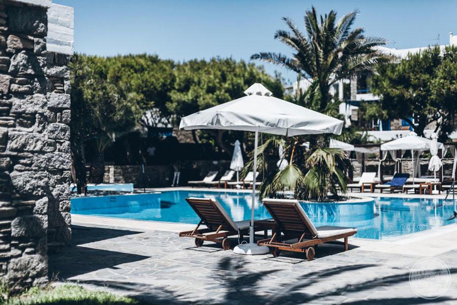 Mykonos Theoxenia Pool Area