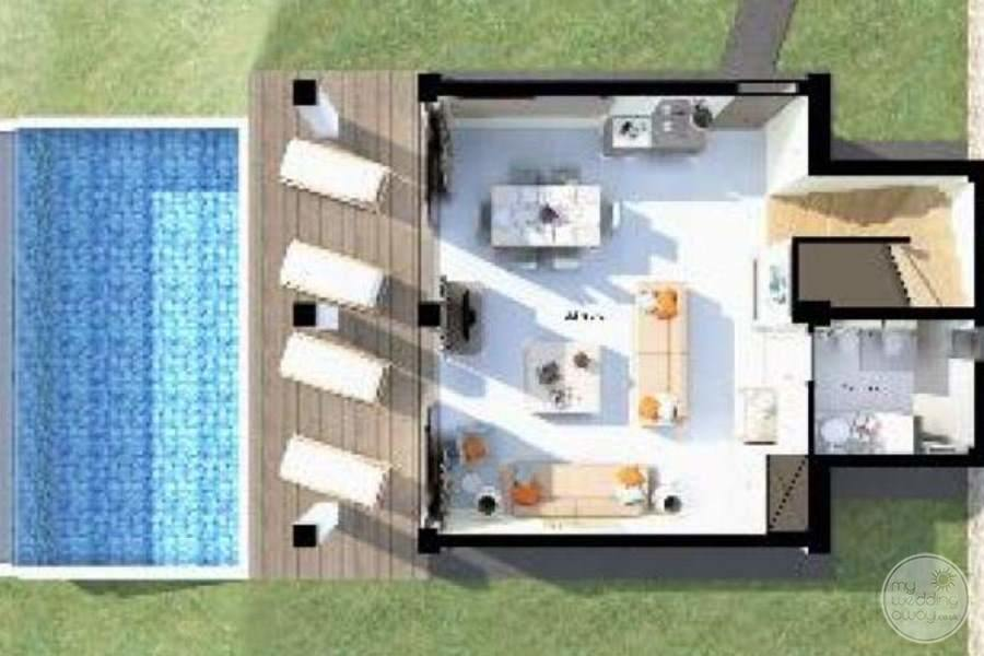 Spa Room Floor Plan for the resort