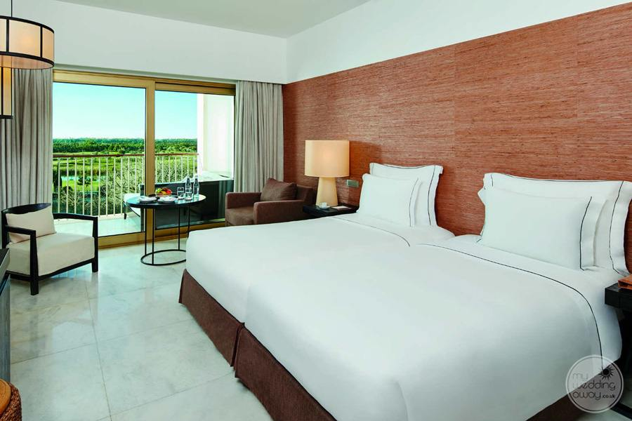 Anantara Vilamoura modern chique bedrroom with view