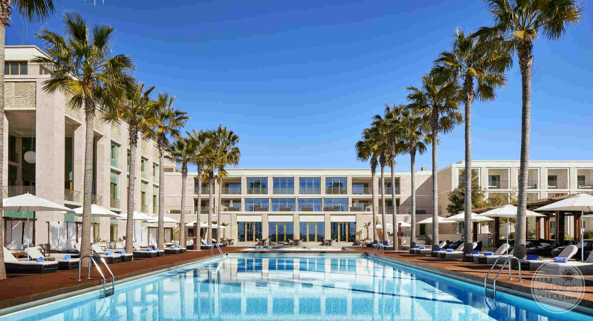 Anantara Vilamoura rooms overlooking pool