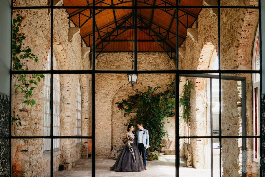 Forte Da Cruz bride and groom enchanting pictures