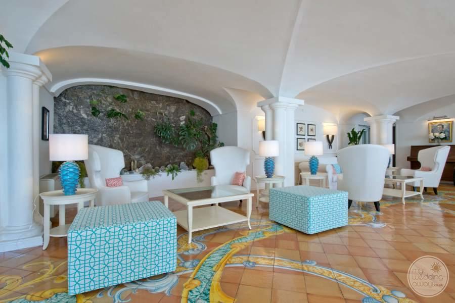 Hotel Marincanto Positano Lounge Area
