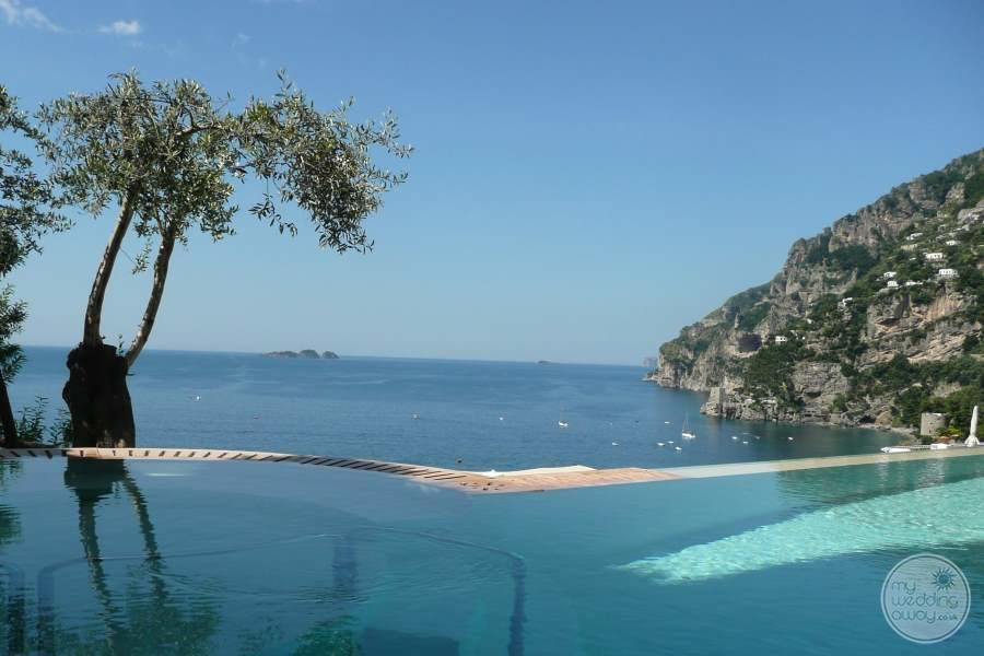 Hotel Marincanto Positano Pool Views