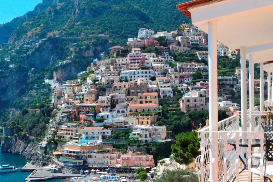 Hotel Marincanto Positano View of Town