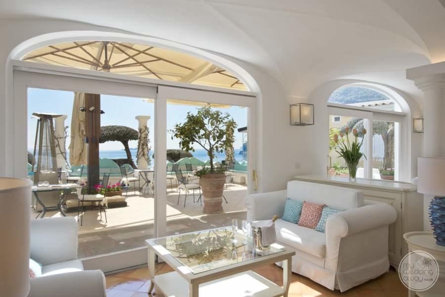 Hotel Marincanto Positano View to Balcony