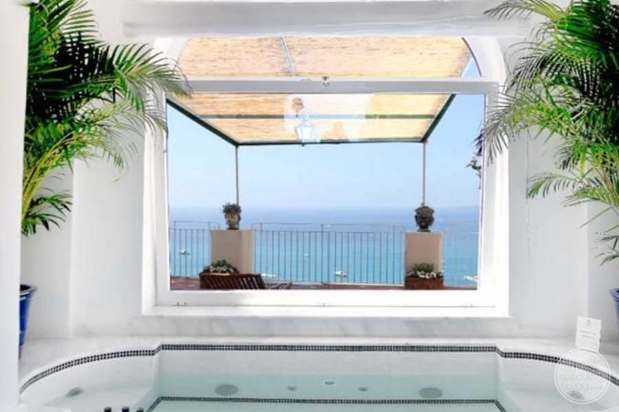 Hotel Marincanto Positano View to Ocean
