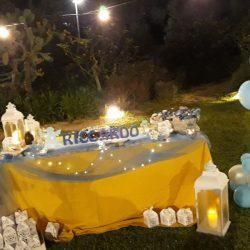 Masseria L'Antico Frantoio Hotel outdoor reception celebration decor
