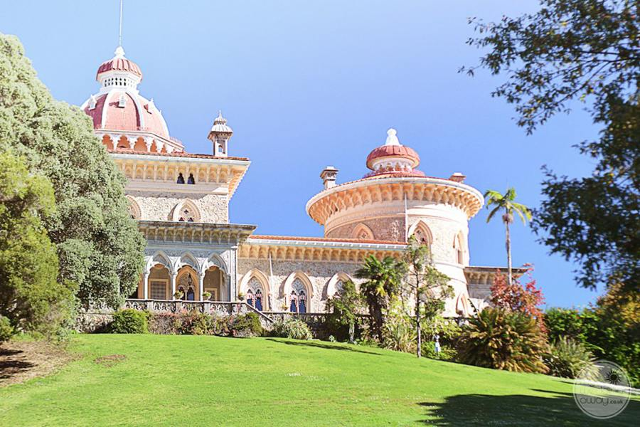 Monserrate Palace entrance from garden