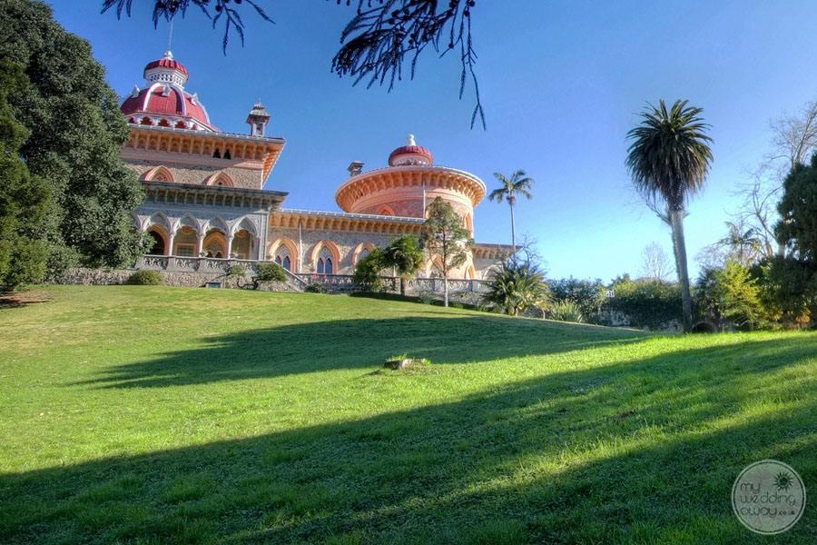 Monserrate Palace Garden wedding ceremony area