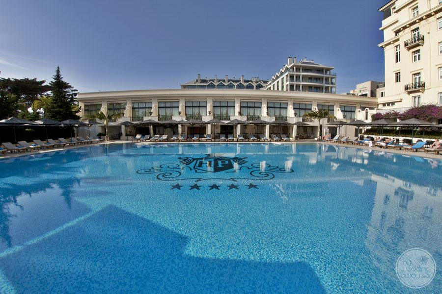 Palacio Estoril Hotel olympic sized pool