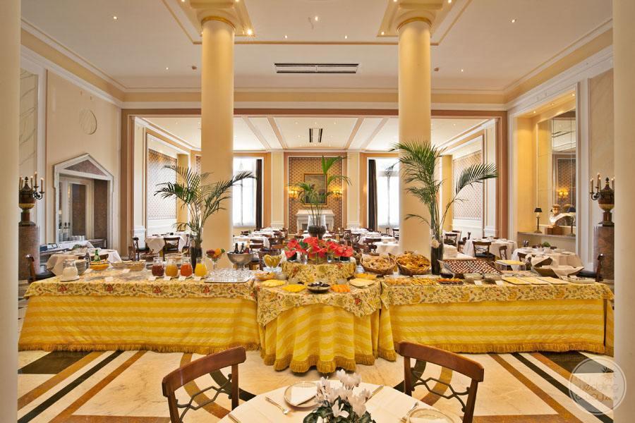 Palacio Estoril Hotel buffet style meal