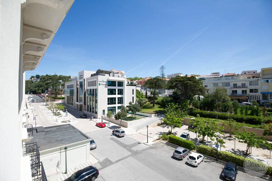 Palacio Estoril Hotel view from room